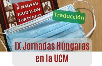 IX Jornadas Húngaras en la Universidad Complutense de Madrid
